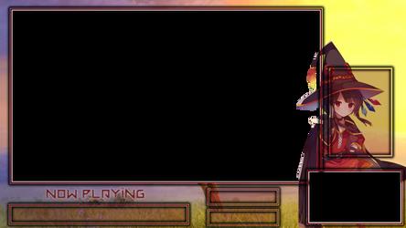 Megumin Osu! Overlay (Free to use)