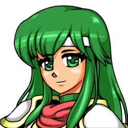 Remaking SFC/Portrait - Palla (Fire Emblem) by ZanZanryu