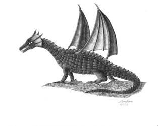 Dragon by TyraRavn