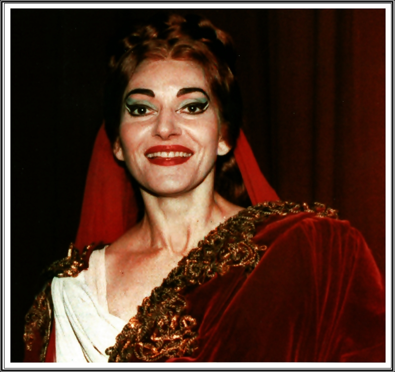 Maria Callas In Norma By Callasiano On Deviantart