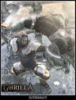 Gorilla Supremacy by Pret-A-3D