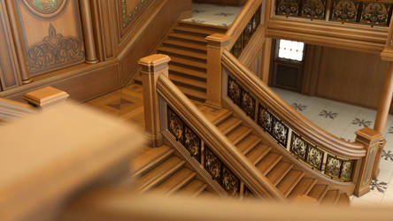 Grand Staircase DOF