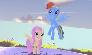 Gmod - Dash and Fluttershy