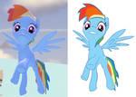 Gmod test - Rainbow Dash