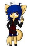 -mINi- 1 Foxgirl - Blu