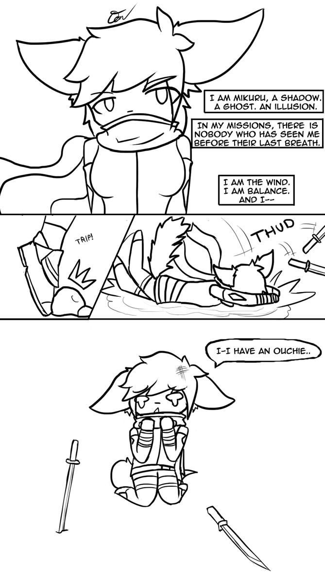- Comic sketch - Meet Mikuru by Tukari-G3