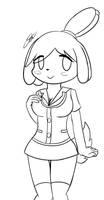 - WIP Sketch - Isabelle