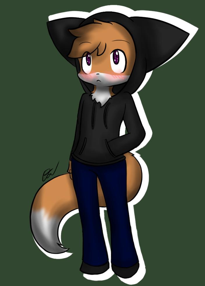- Gift - Hoodie fox by Tukari-G3