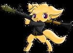 150917 - Armed cuteness
