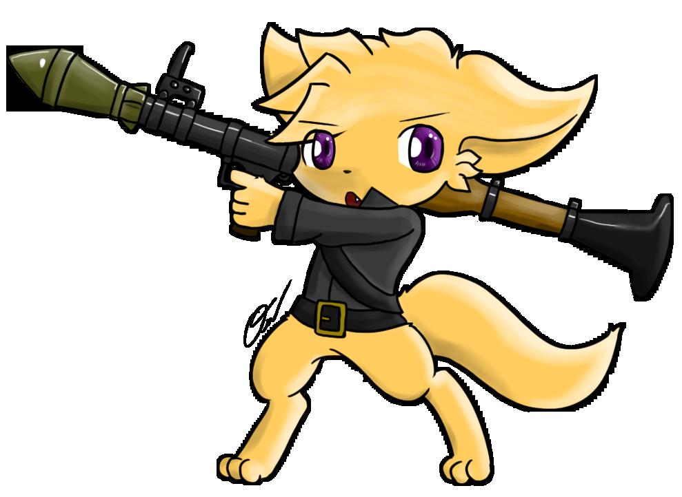 150917 - Armed cuteness by Tukari-G3