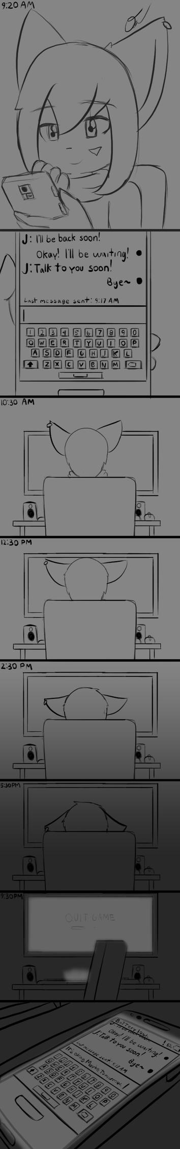 Short Comic - Waiting by Tukari-G3