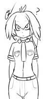 Digital sketch - Kemono friends Shoebil