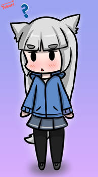 Digital Art - Chibi Hako