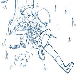 Digital Sketch - After Battle