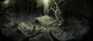 The Cursed forest- Tree of the dead