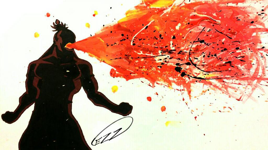 Fire Lord Ozai (Silhouette) by stART1st on DeviantArt