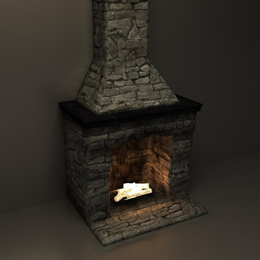 Old Fireplace 2 By Bressoster On Deviantart