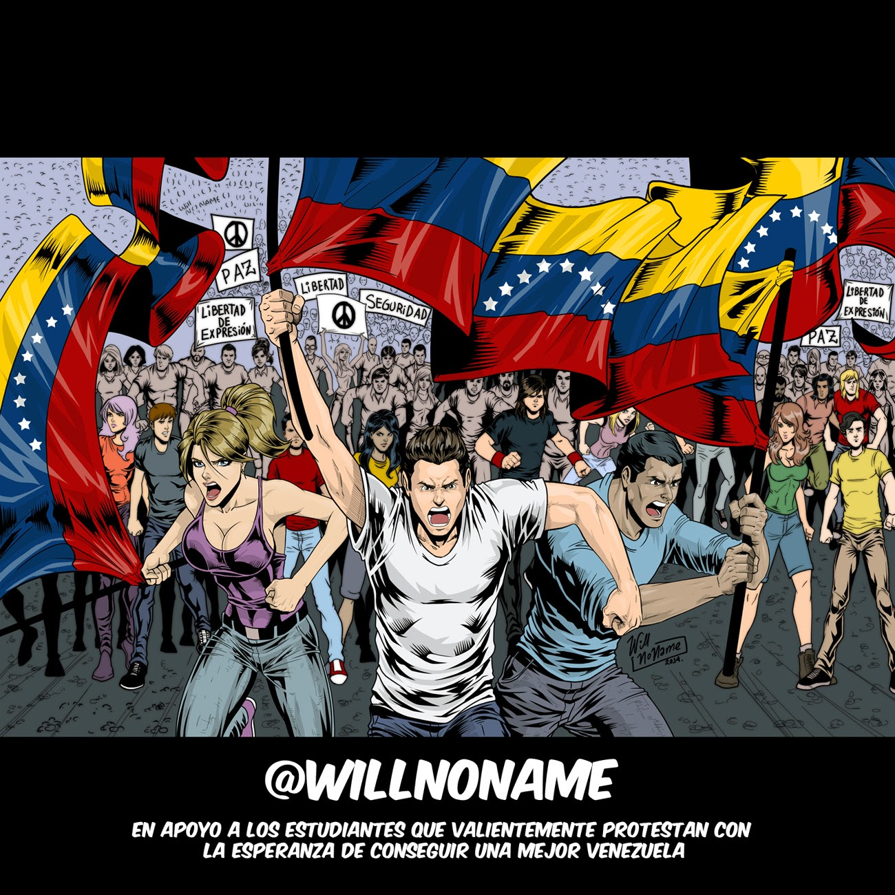 Estudiantes de Venezuela by WillNoName