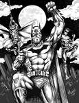 Batman Robin and Nightwing