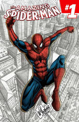 Spiderman Cover by WillNoName