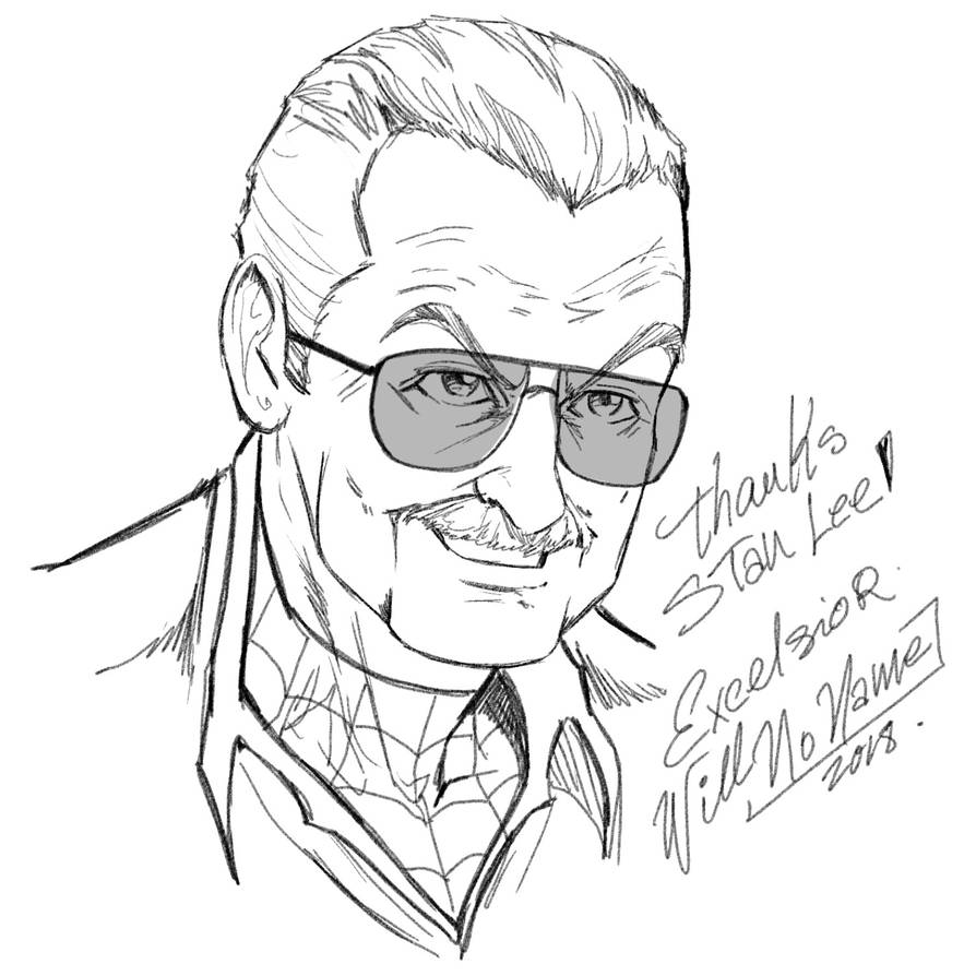 Rip Stan Lee by WillNoName