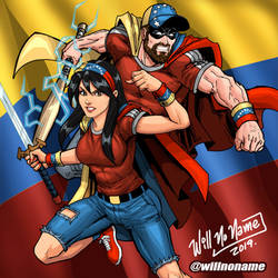 SUPER VENEZOLANOS by WillNoName