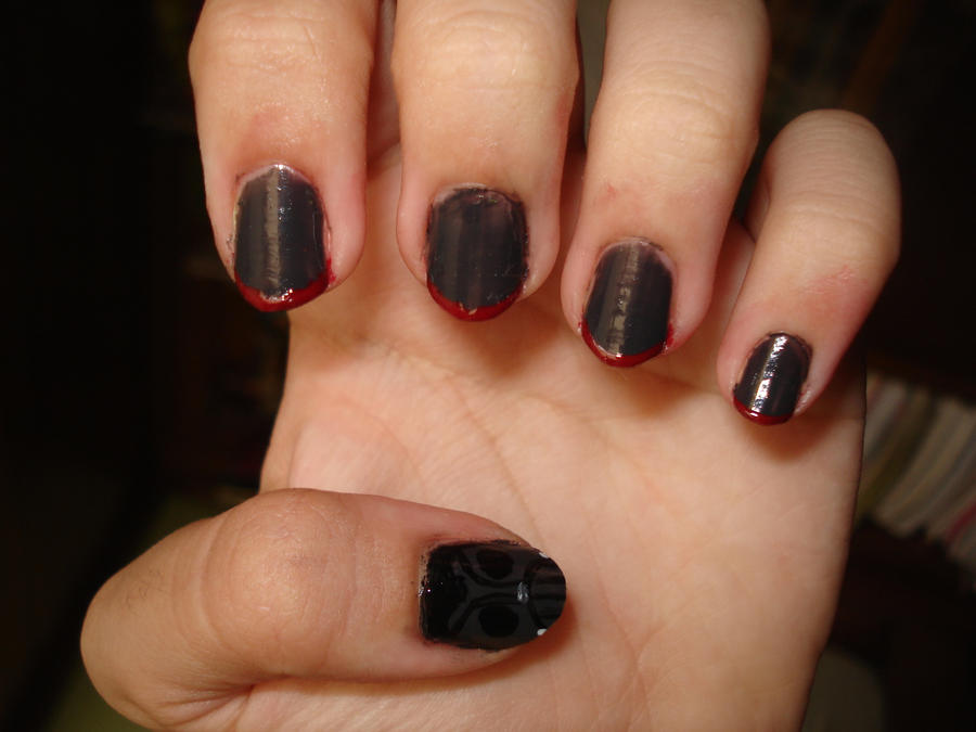 Darth Vader Nails by Camilicks on DeviantArt