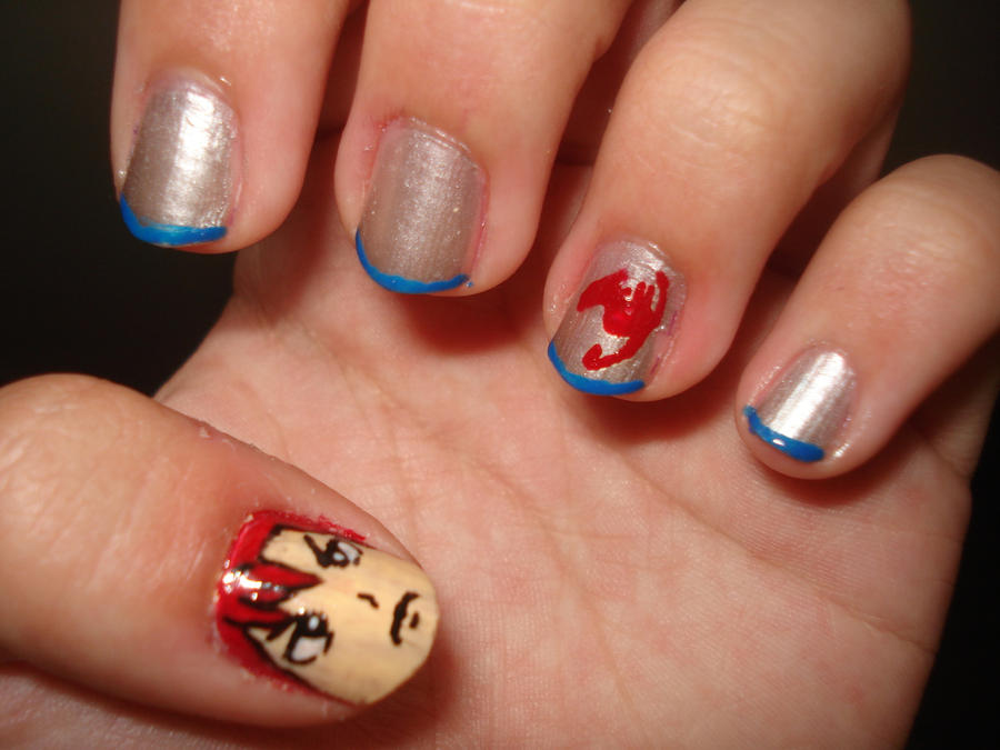 Fairy Tail Nails on manganiNAILS - DeviantArt