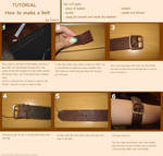 Tutorial - How to make a belt