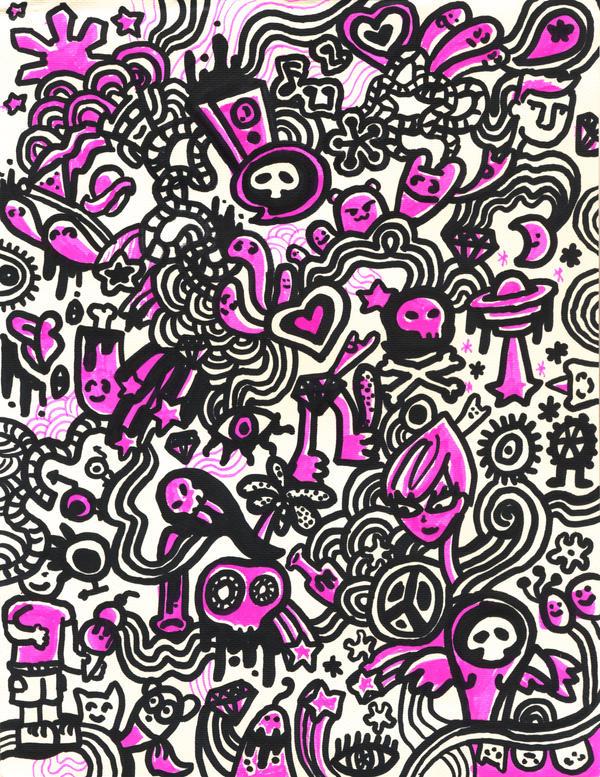 Simple Doodle Art DesignsSimple Doodle Art Designs