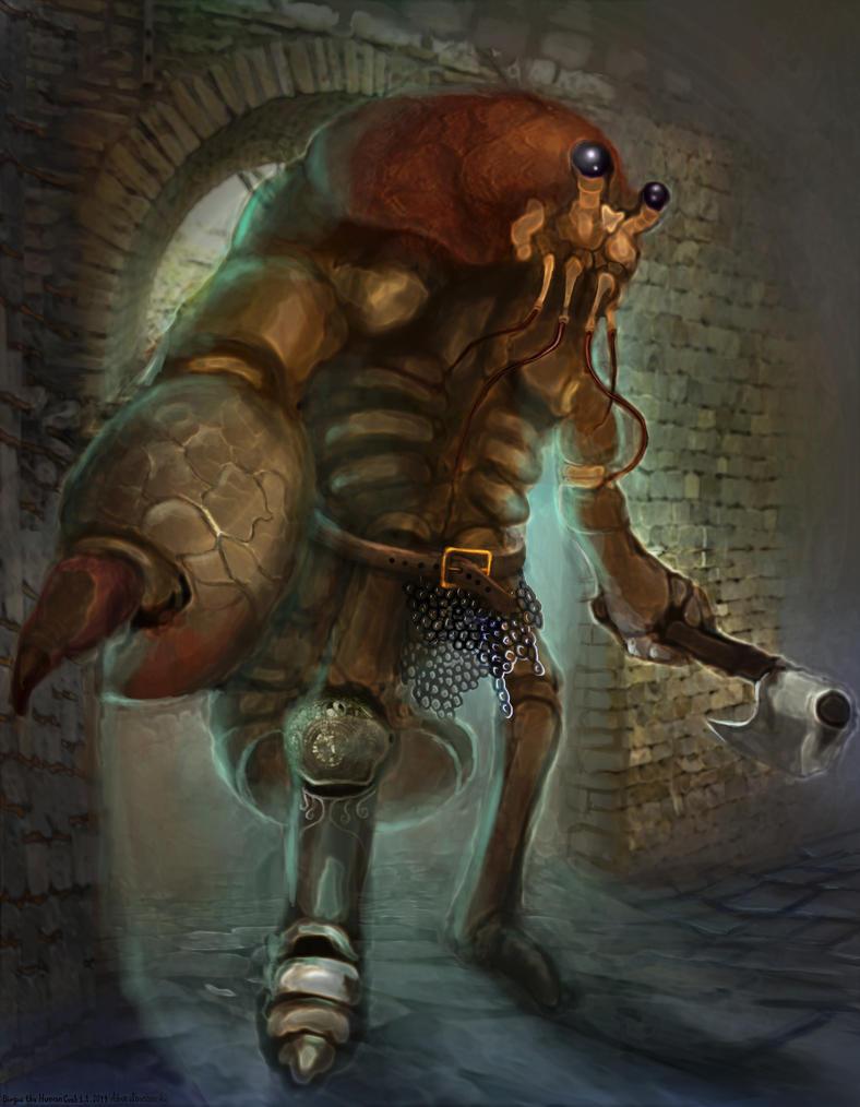 Birgus the Human Crab by Vitaj