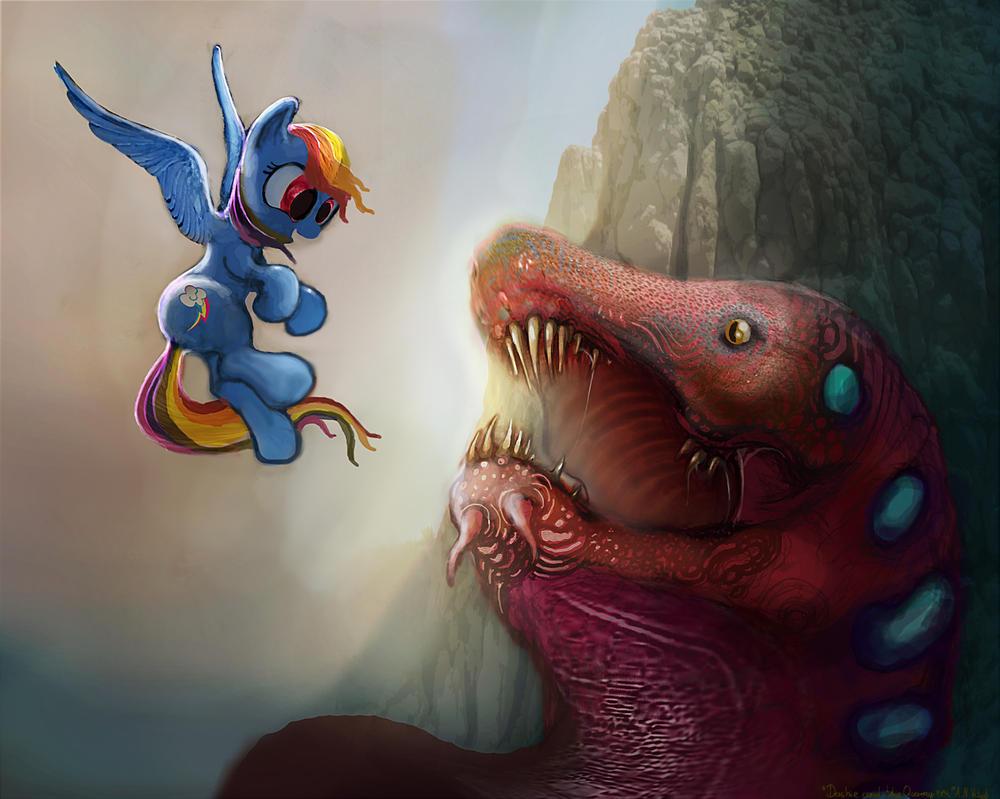 Dashie and the Quarray eel by Vitaj