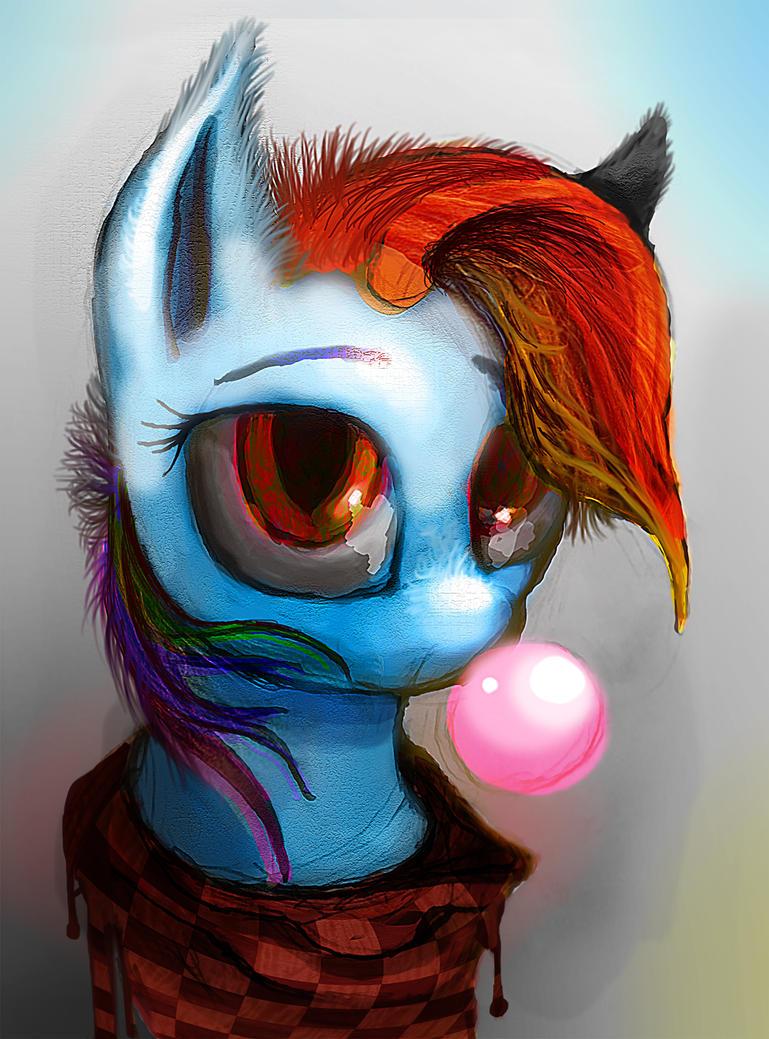 Sassy Rainbow by Vitaj