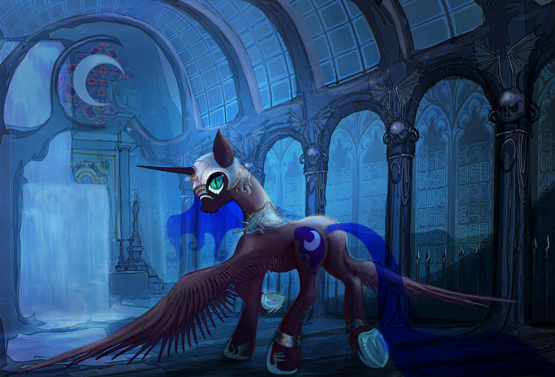 Nightmare Moon by Vitaj