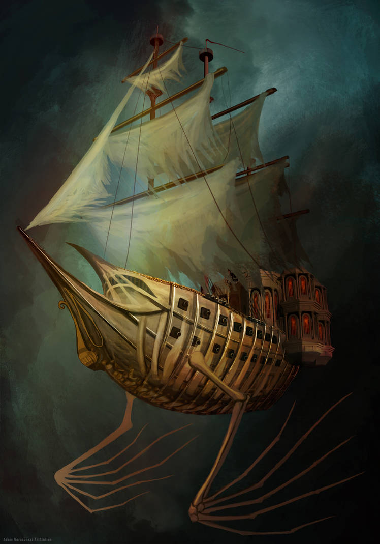 Flying Dutchman by Vitaj