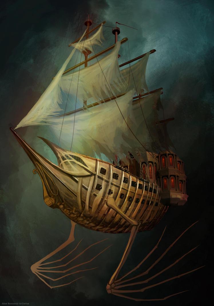 Flying Dutchman by Vitaj