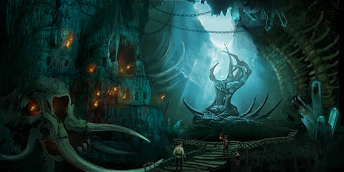 Atmospheric Concepts Underground Pirates