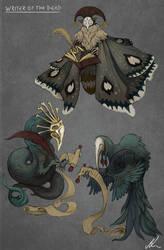 Death Writer Spirit Concept