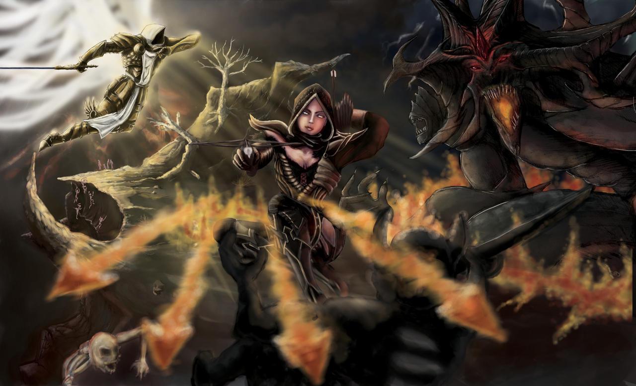 Diablo 3 _ Contest by Red-Zephyr