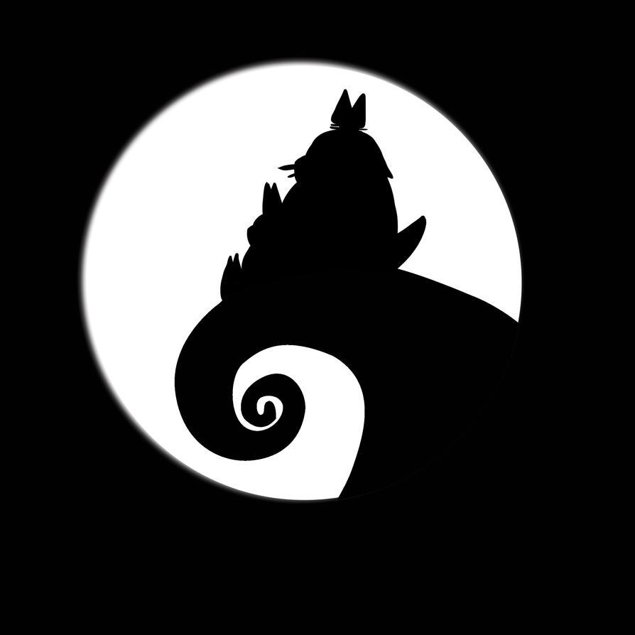 Totoro Burton by Red-Zephyr