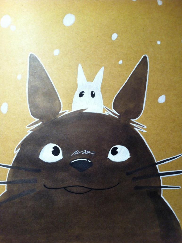 Totoro by Red-Zephyr