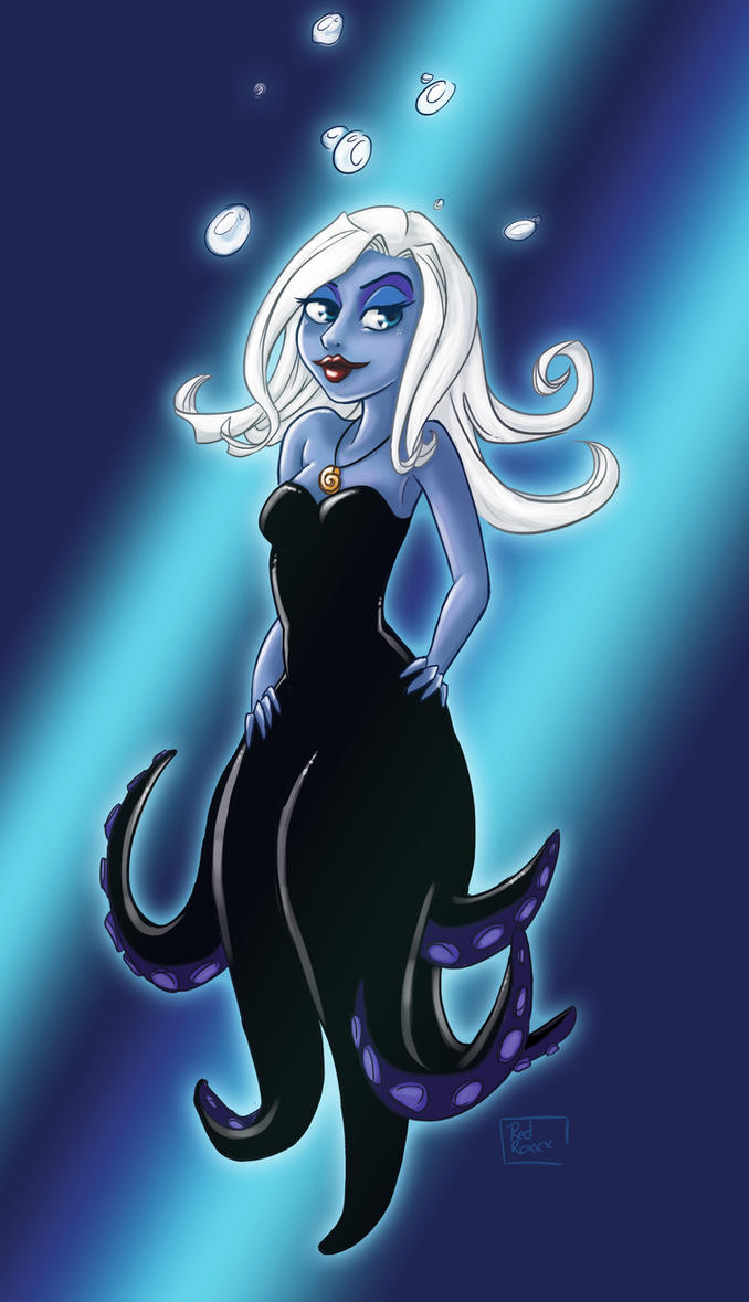Ursula Pin Up by Red-Zephyr
