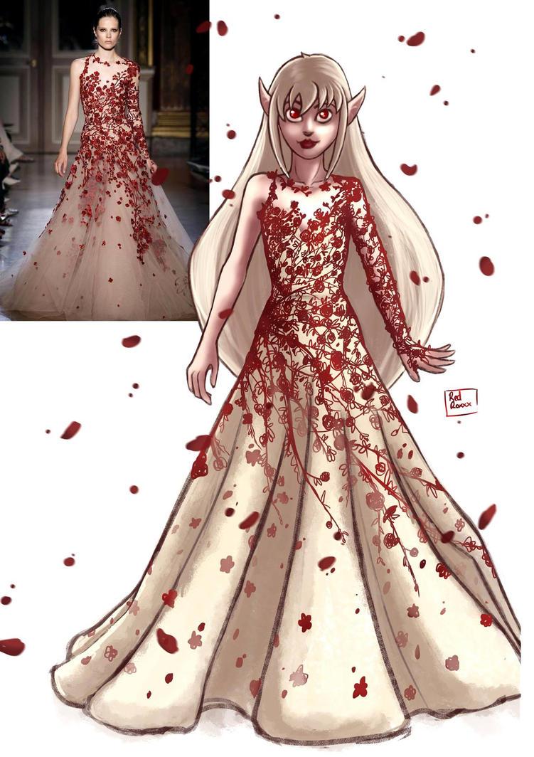 Elia Saab Dress by Red-Zephyr