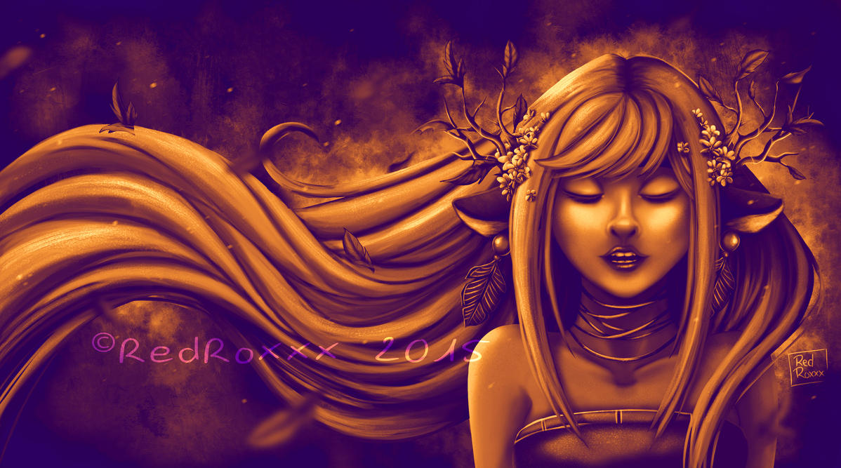 Automn Gold by Red-Zephyr