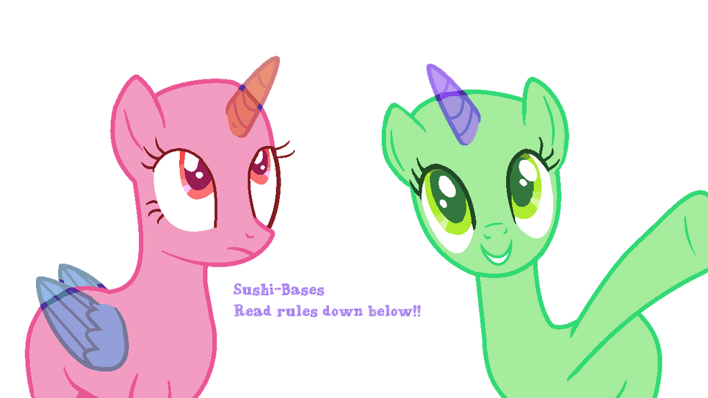 MLP Base #3 - Just Look! by sushi-bases on DeviantArt