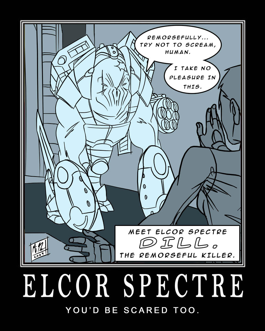 Mass Effect 2 Elcor Spectre By Migo Go On Deviantart