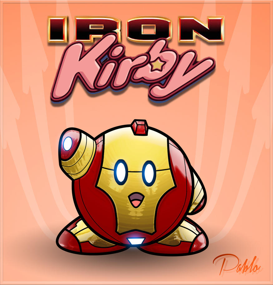 IRON KIRBY by PAabloO on DeviantArt