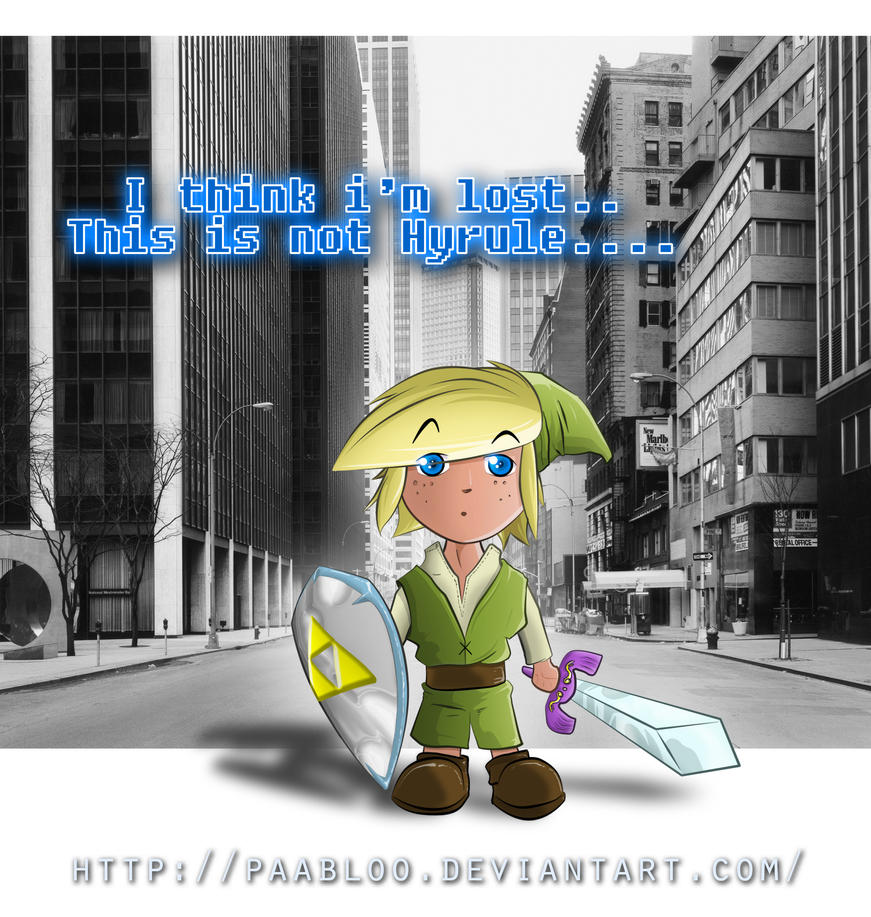 The Legend oh Zelda: Link is lost... by PAabloO