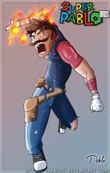 Super Pablo Bros: Mario powaa by PAabloO