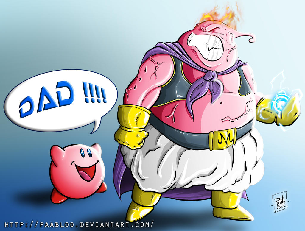 Buu and Kirby by PAabloO